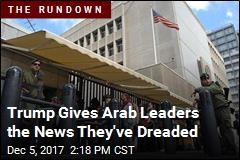 Trump Braces Arab Leaders for Volatile Decision on Israel