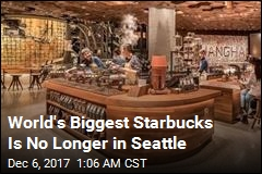 World's Biggest Starbucks Opens in Shanghai