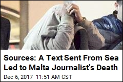 Sources: Text Triggered Bomb That Killed Malta Journalist
