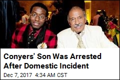 Conyers' Son Was Arrested After Domestic Incident