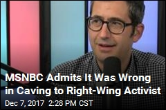 MSNBC Fires, Unfires Contributor Over 2009 Tweet