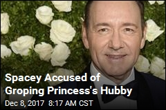 Spacey Accused of Groping Princess' Hubby