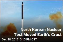 North Korean Nuclear Test Moved Earth's Crust