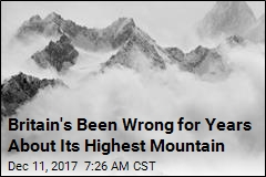Britain's Been Wrong for Years About Its Highest Mountain