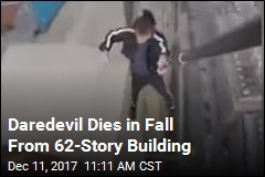 Daredevil Dies in 62-Story Fall