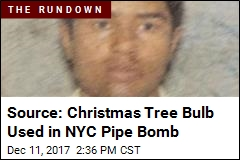 NYC Suspect May Have Made Crude Bomb Himself