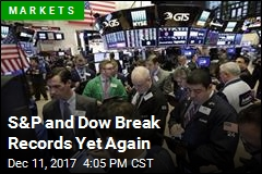 S&P and Dow Break Records Yet Again