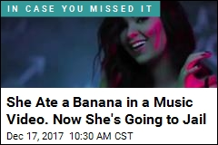 Egyptian Singer Gets 2 Years in Jail for Banana Video