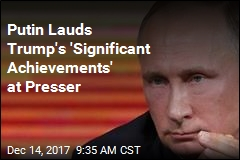 Putin in Presser: DC Beset by 'Spy Mania'