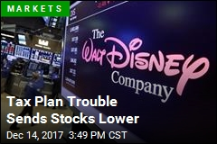 Tax Plan Trouble Sends Stocks Lower