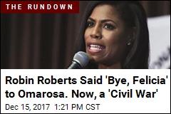 Omarosa on Robin Roberts: It's a 'Black Woman Civil War'