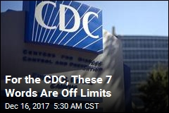These Are the 7 Words the CDC Can't Use