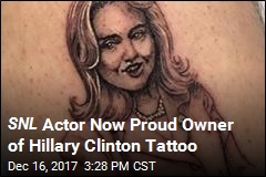 SNL Actor Now Proud Owner of Hillary Clinton Tattoo