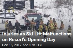 Ski Lift Malfunction Strands Dozens, Injures 5