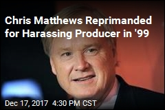 NBC Paid Chris Matthews' Harassment Accuser in '99