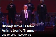 Robo-Trump to Make Hall of Presidents Debut