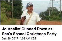 Mexican Journalist Killed at Son's Christmas Pageant