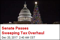 Senate Passes Sweeping Tax Overhaul