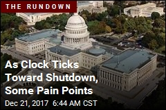 Some Pitfalls in Race to Avoid a Government Shutdown