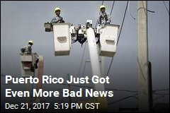 Power Won't Be Fully Returned to Puerto Rico Until May