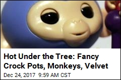 Hot Under the Tree: Fancy Crock Pots, Monkeys, Velvet