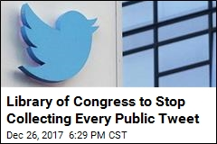 Your 2018 Tweets Won't Have a Home at Library of Congress