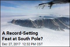 A Record-Setting Feat at South Pole?