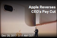 Apple CEO Gets Massive Bonus Boost