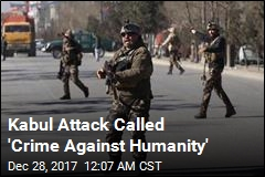 Kabul Attack Called 'Crime Against Humanity'