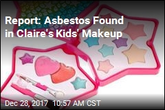 Report: Asbestos Found in Claire's Kids' Makeup