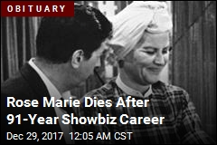 Rose Marie Dies After 91-Year Showbiz Career