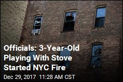 Officials: 3-Year-Old Playing With Stove Started NYC Fire