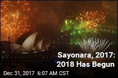 Sayonara, 2017: 2018 Has Begun