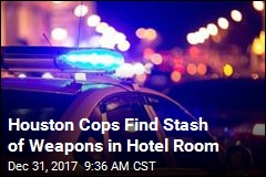 Houston Cops Find Stash of Weapons in Hotel Room