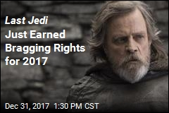 Last Jedi Just Earned Bragging Rights for 2017