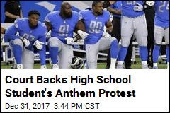 Court Backs High School Student's Anthem Protest