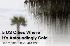 5 US Cities Where It's Astoundingly Cold