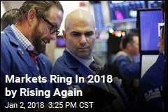 Markets Ring In 2018 by Rising Again