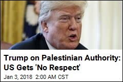 Trump Threatens to Cut Off Aid to Palestinian Authority
