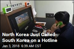 In a Surprise, North Korea Calls South on Hotline