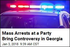 Mass Arrests at a Party Bring Controversy in Georgia
