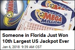 $450M Mega Millions Winning Ticket Sold in Florida