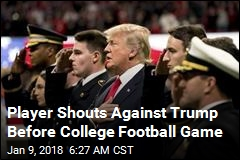 Trump Cheered, Booed at College Football Game