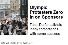 Olympic Protesters Zero In on Sponsors
