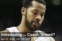 Introducing ... Coach 'Sheed?