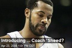 Introducing ... Coach 'Sheed?