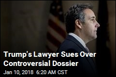 Trump Sues Over Controversial Dossier