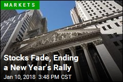 Stocks Fade, Ending a New Year's Rally