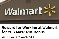 Walmart Is Sweetening the Deal for 1M Employees