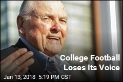 Man Considered Voice of College Football Dies at 89
